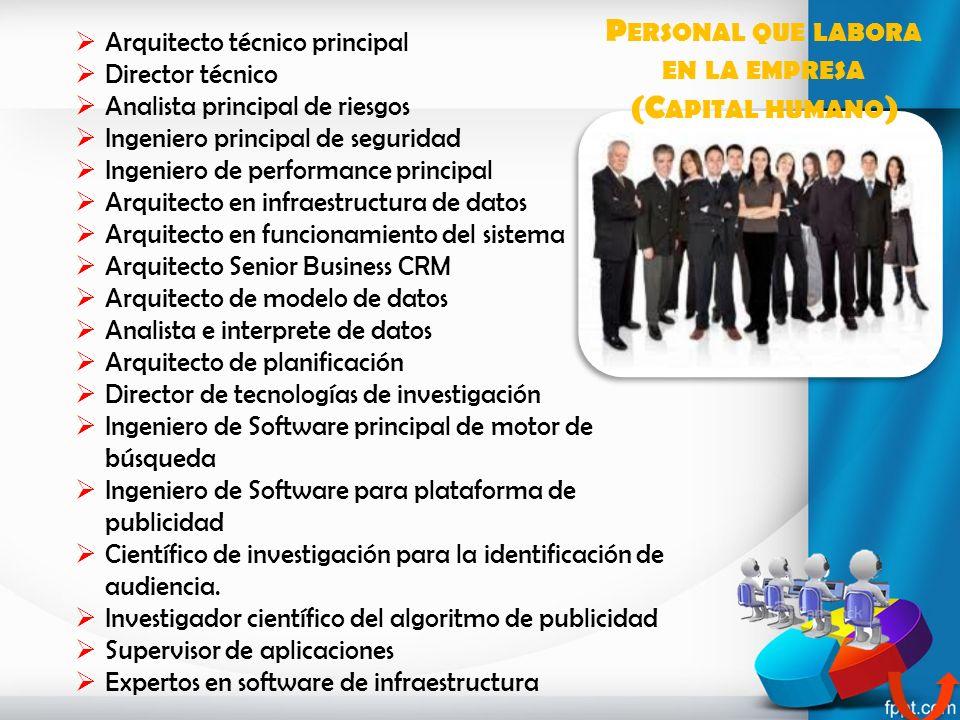 Arquitecto técnico principal Director técnico Analista principal de riesgos Ingeniero principal de seguridad Ingeniero de performance principal Arquit