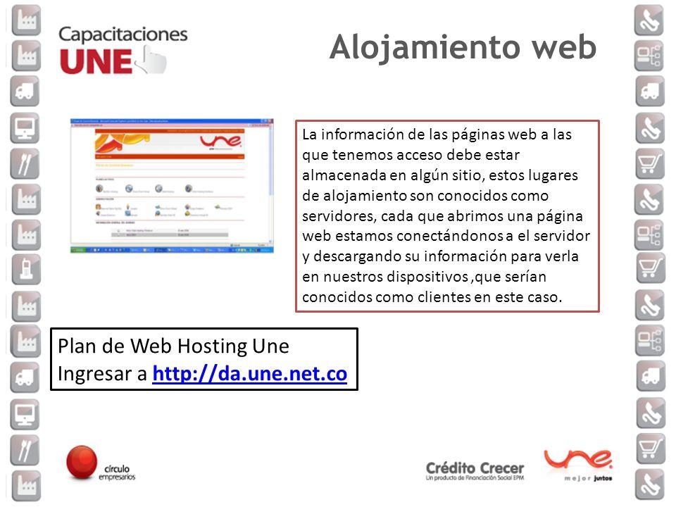 La información de las páginas web a las que tenemos acceso debe estar almacenada en algún sitio, estos lugares de alojamiento son conocidos como servi