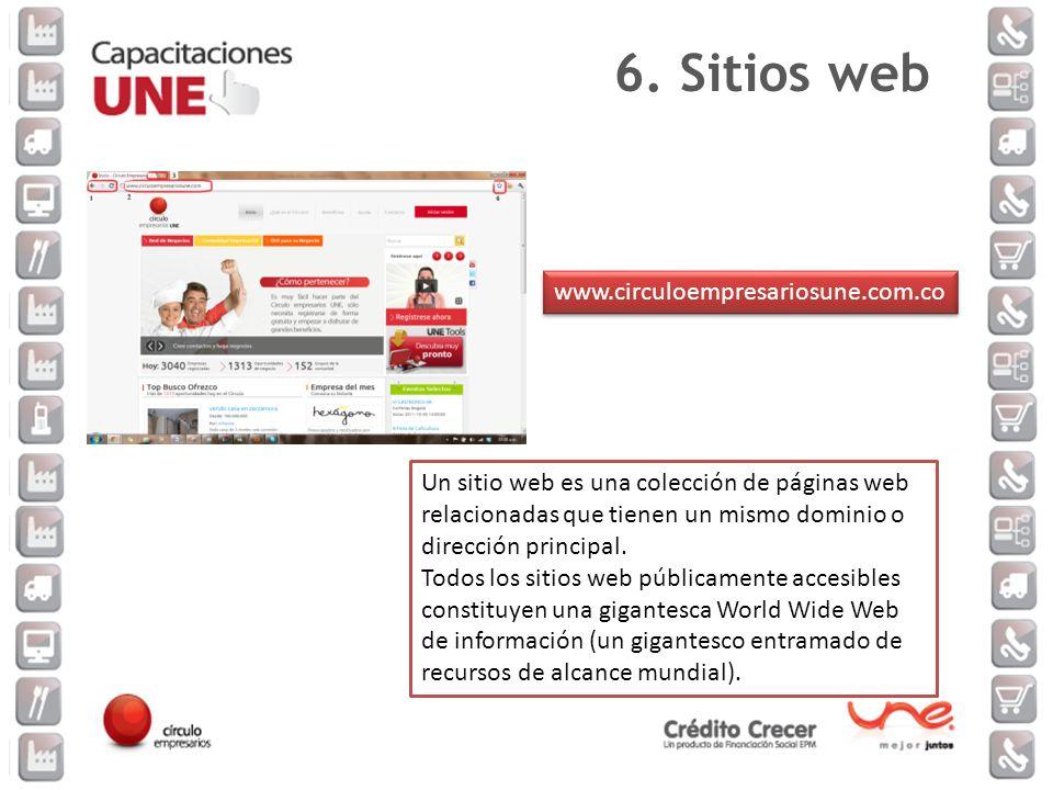 Un sitio web es una colección de páginas web relacionadas que tienen un mismo dominio o dirección principal. Todos los sitios web públicamente accesib