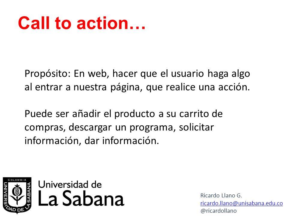 Propósito: En web, hacer que el usuario haga algo al entrar a nuestra página, que realice una acción.