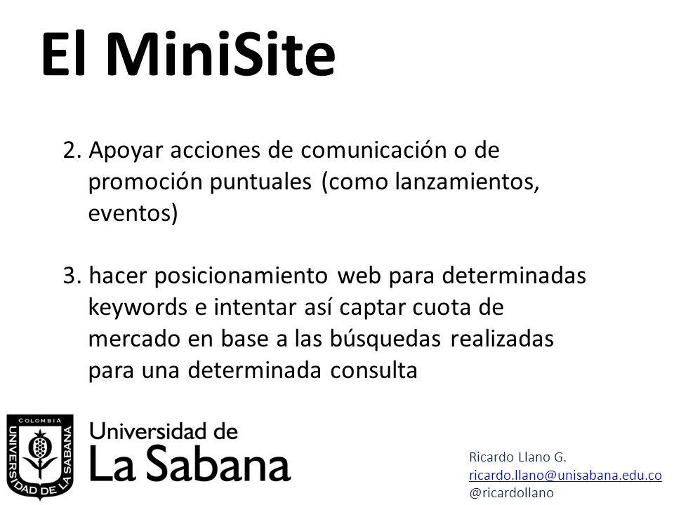 El MiniSite 2.