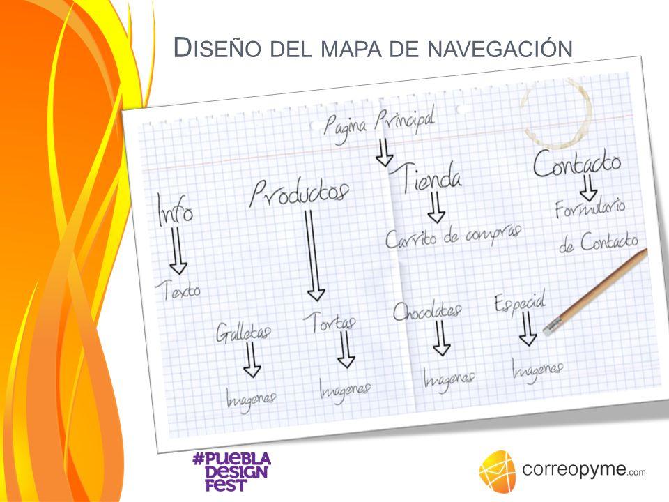 D ISEÑO DEL MAPA DE NAVEGACIÓN