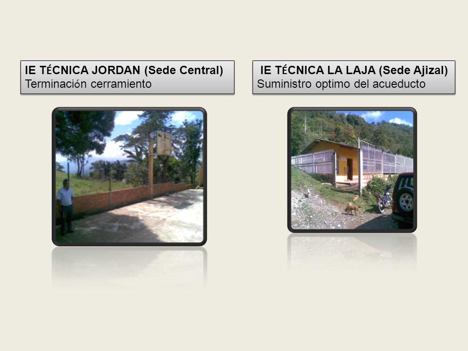 IE SERAFIN LUENGAS CHACON (Sede Pueblo Viejo) Construcci ó n sistema s é ptico IE SERAFIN LUENGAS CHACON (Sede Pueblo Viejo) Construcci ó n sistema s