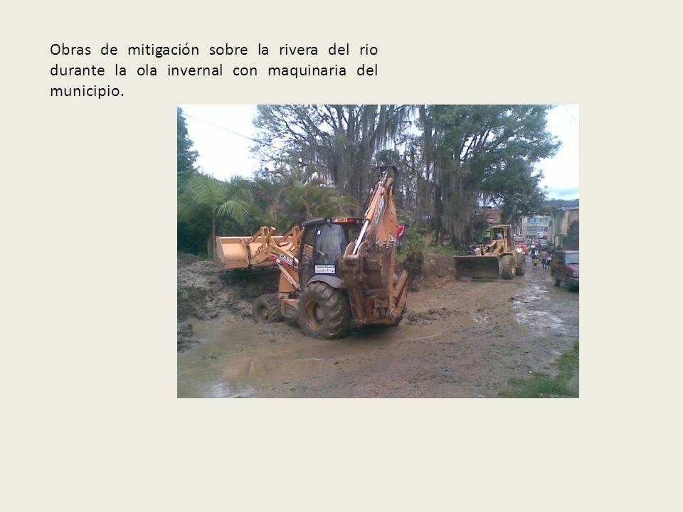 BARRIO COLINAS BAJO: Deslizamiento de terreno Visitas realizadas como miembro del CLOPAD a sitios críticos del casco urbano. Limpieza de la rivera del