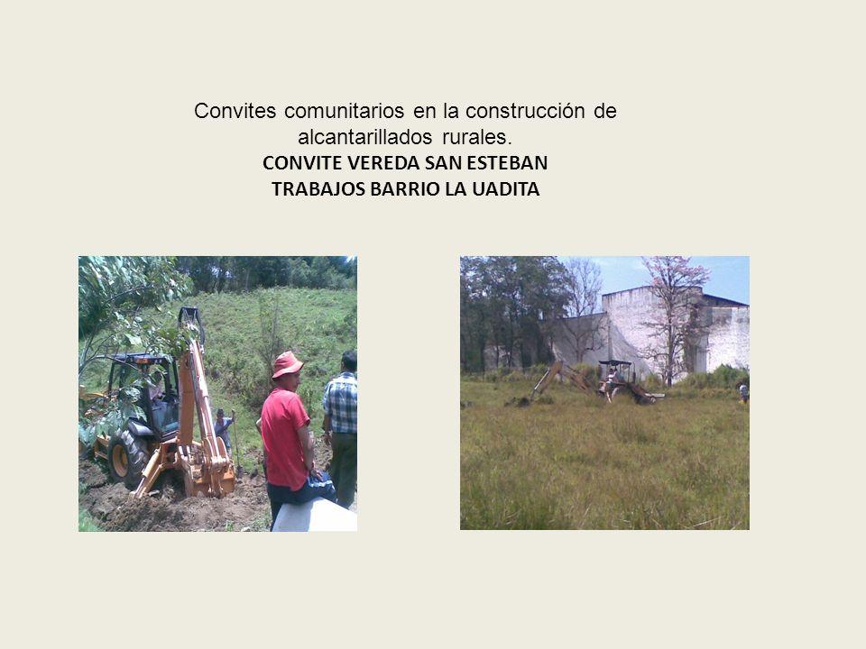 Trabajos de conformado y cuneteo realizados a las vías de la veredas Ubaza y Tierra de Gómez con la maquinaria de propiedad de la Gobernación de Boyac