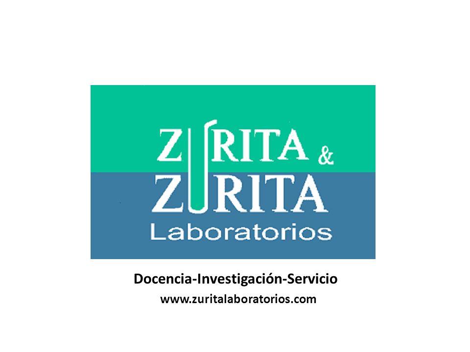 Docencia-Investigación-Servicio www.zuritalaboratorios.com