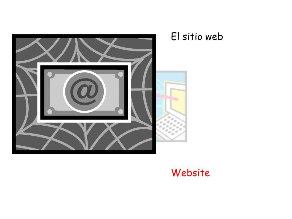 El sitio web Website