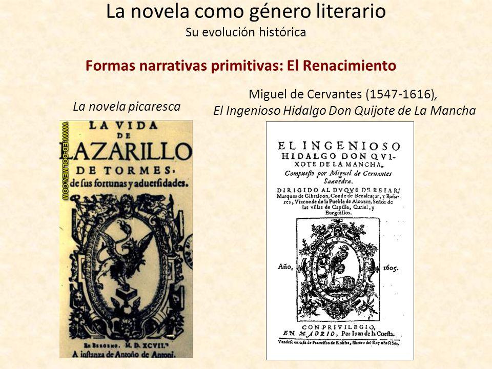 La novela como género literario Su evolución histórica Formas narrativas primitivas: La Edad Media europea Geoffrey Chaucer (1343-1400): Canterbury Ta
