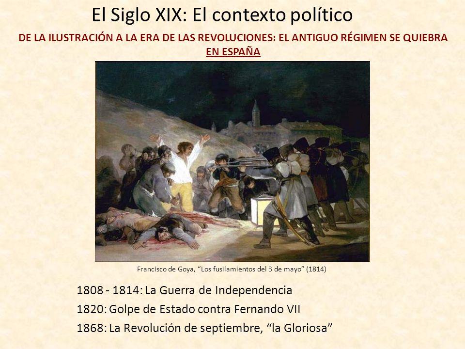 El Siglo XIX: El contexto político DE LA ILUSTRACIÓN A LA ERA DE LAS REVOLUCIONES: EL ANTIGUO RÉGIMEN SE QUIEBRA EN EUROPA 1789: La Revolución frances