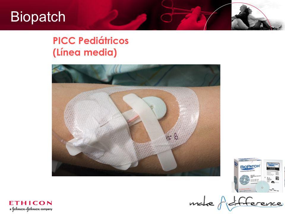 Biopatch PICC Pediátricos (Línea media)
