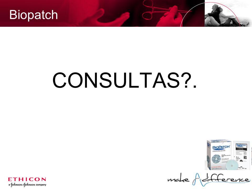 Biopatch CONSULTAS?.
