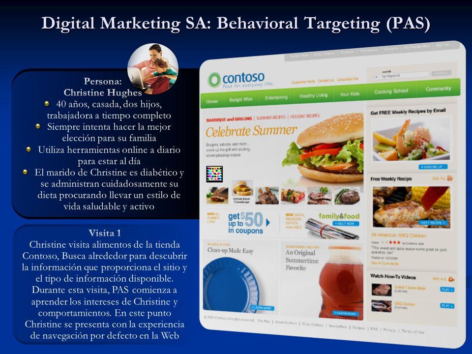 Digital Marketing SA: Behavioral Targeting (PAS)