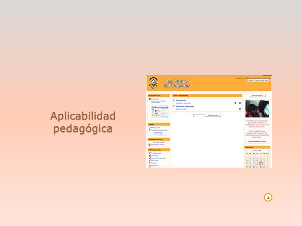 Tipo de usuarios: ESTUDIANTE: Cuando uno ingresa a algún curso o espacio debe inscribirse en este.