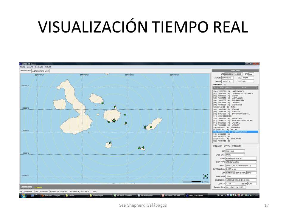 VISUALIZACIÓN TIEMPO REAL Sea Shepherd Galápagos17