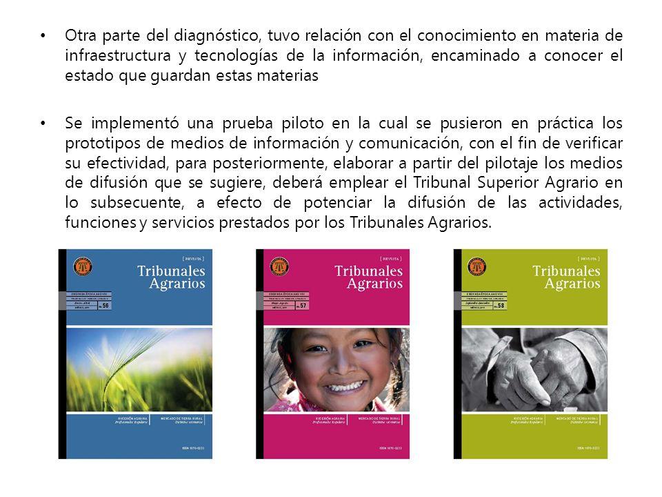 GACETA INTERNA DE LOS TRIBUNALES AGRARIOS «LA SEMILLA»