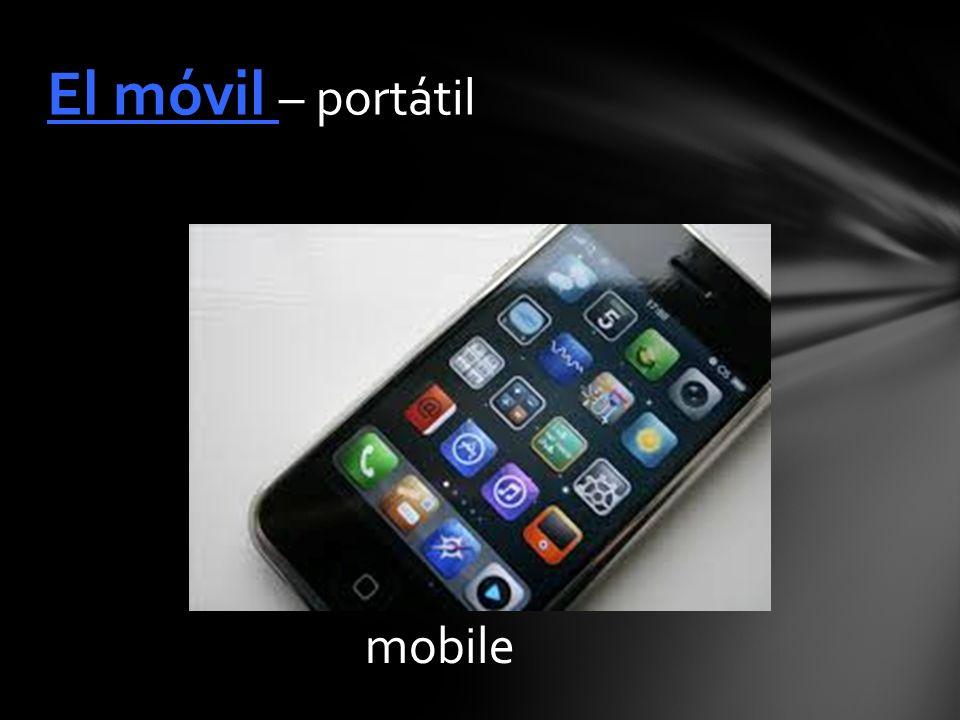 mobile El móvil – portátil