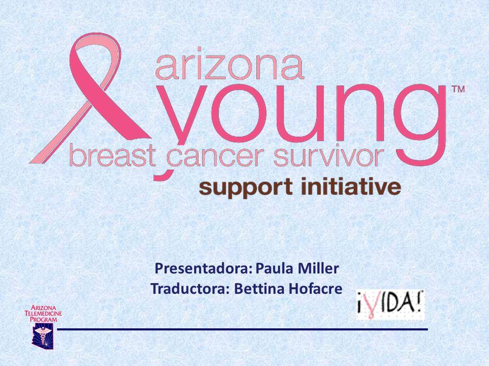¿Quiénes son parte del equipo de sobrevivientes jóvenes del cáncer de mama en AZ.