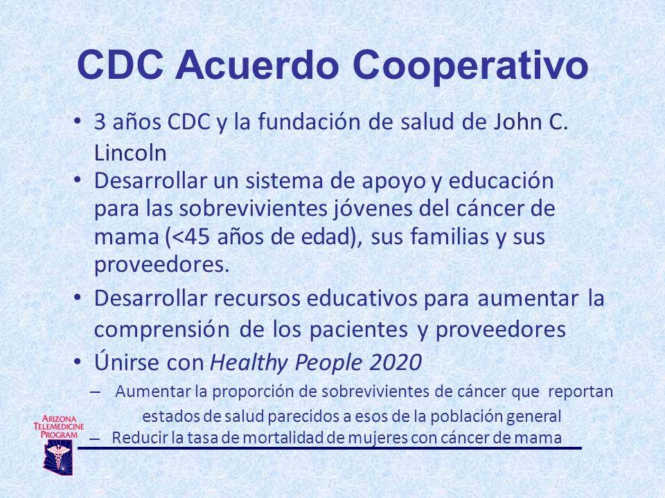 3 años CDC y la fundación de salud de John C.