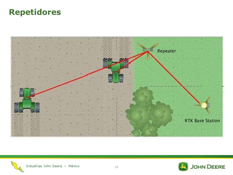 Industrias John Deere – México 19 Repetidores