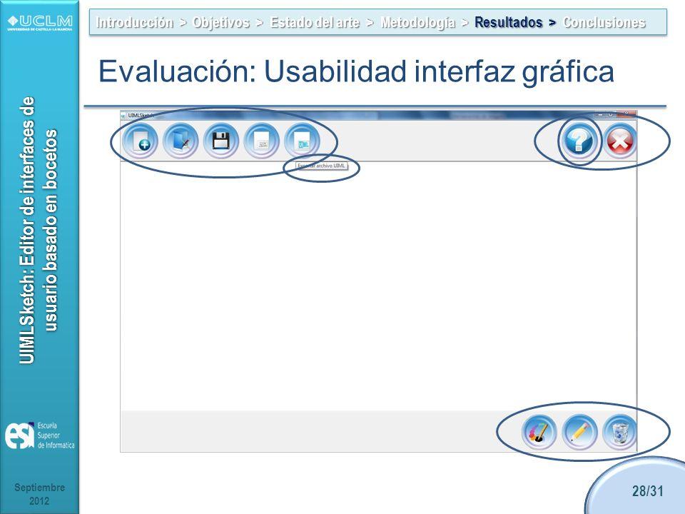 UIMLSketch: Editor de interfaces de usuario basado en bocetos Hacer todo simple y obvio Incorporar ayuda sensible a las tareas Ser cuidadoso con las a