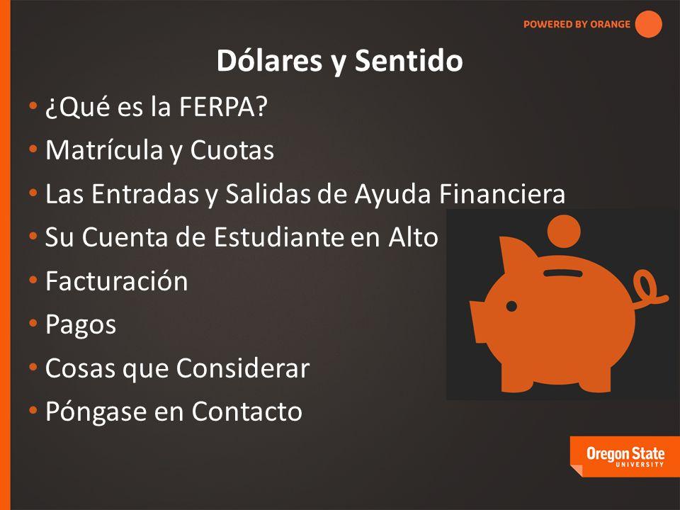 Dólares y Sentido ¿Qué es la FERPA.