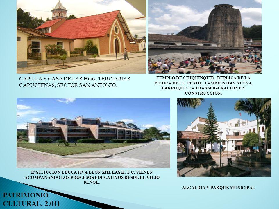 CAPILLA Y CASA DE LAS Hnas. TERCIARIAS CAPUCHINAS, SECTOR SAN ANTONIO. INSTITUCIÓN EDUCATIVA LEON XIII. LAS H. T.C. VIENEN ACOMPAÑANDO LOS PROCESOS ED