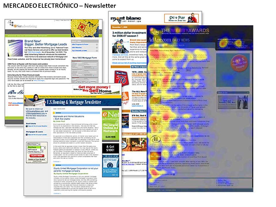 MERCADEO ELECTRÓNICO – Newsletter