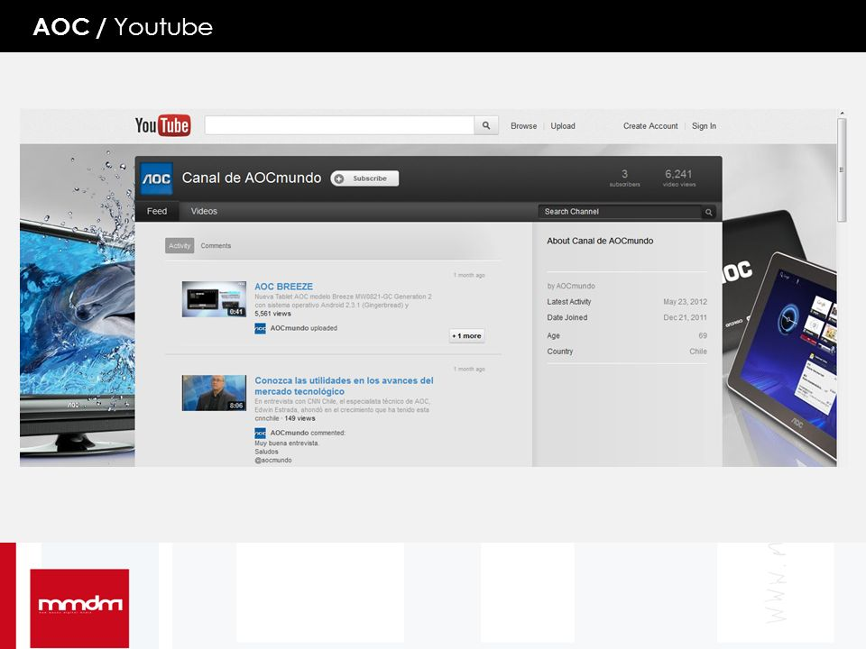AOC / Youtube