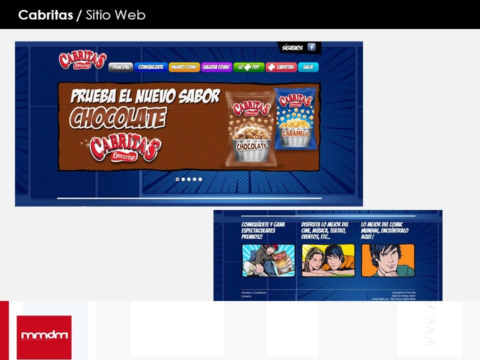 Cabritas / Sitio Web