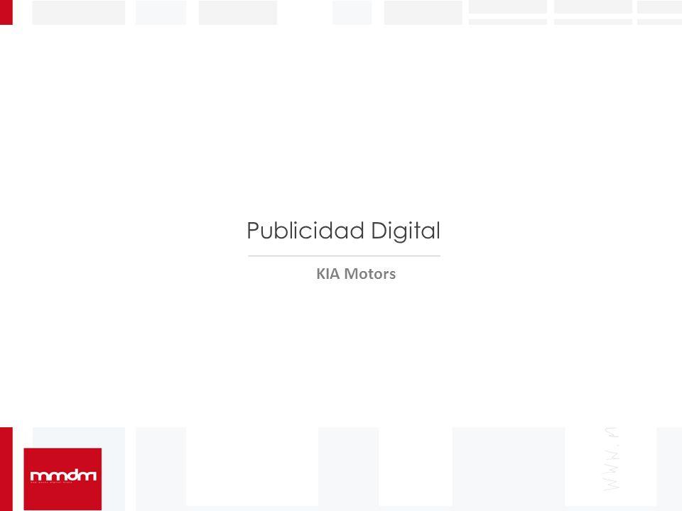 Publicidad Digital KIA Motors