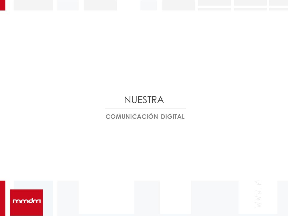 COMUNICACIÓN DIGITAL NUESTRA