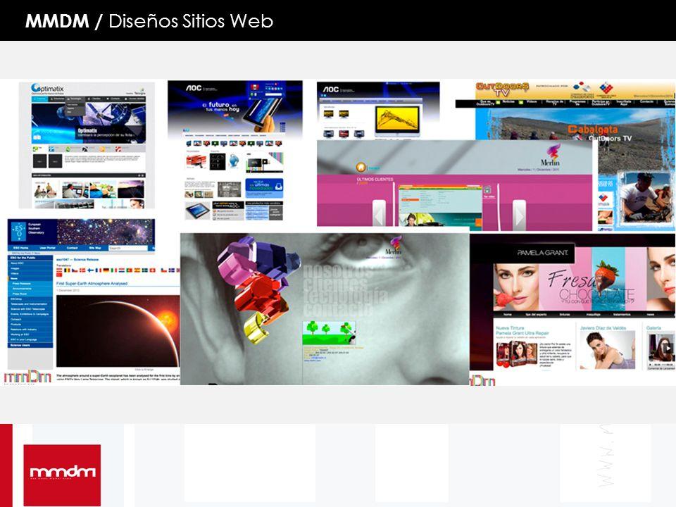 MMDM / Diseños Sitios Web