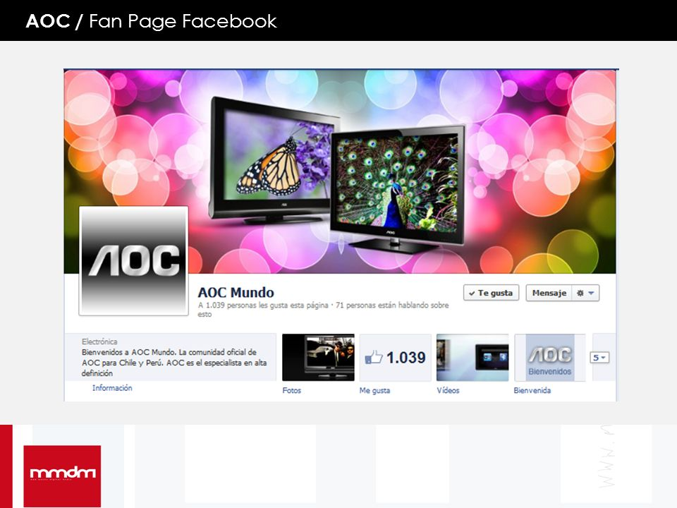 AOC / Fan Page Facebook