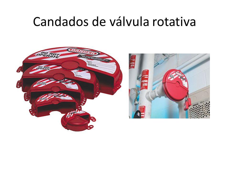 Candados de válvula rotativa