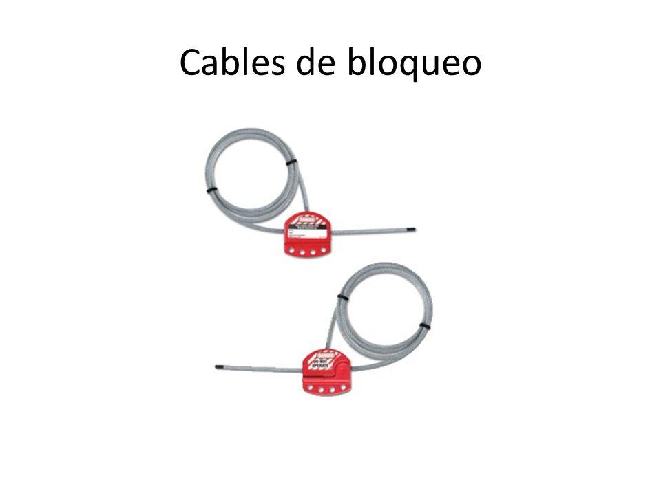 Cables de bloqueo