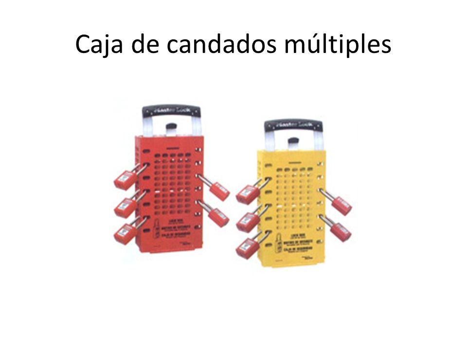 Caja de candados múltiples