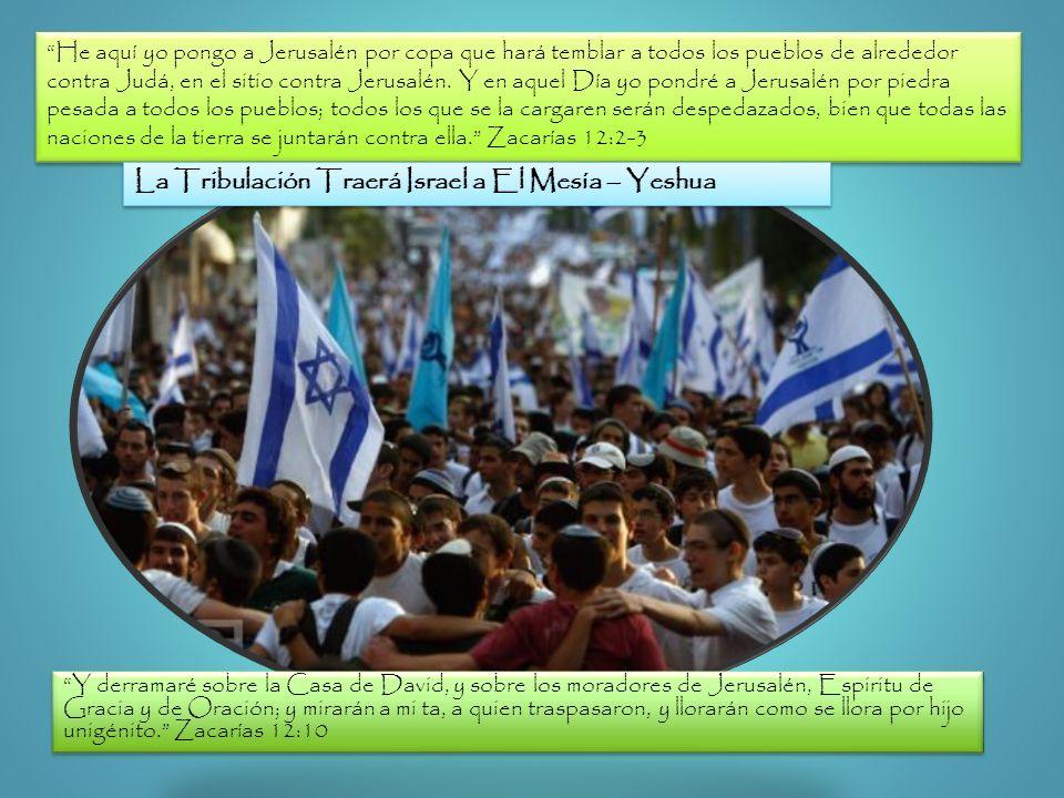 He aquí yo pongo a Jerusalén por copa que hará temblar a todos los pueblos de alrededor contra Judá, en el sitio contra Jerusalén. Y en aquel Día yo p