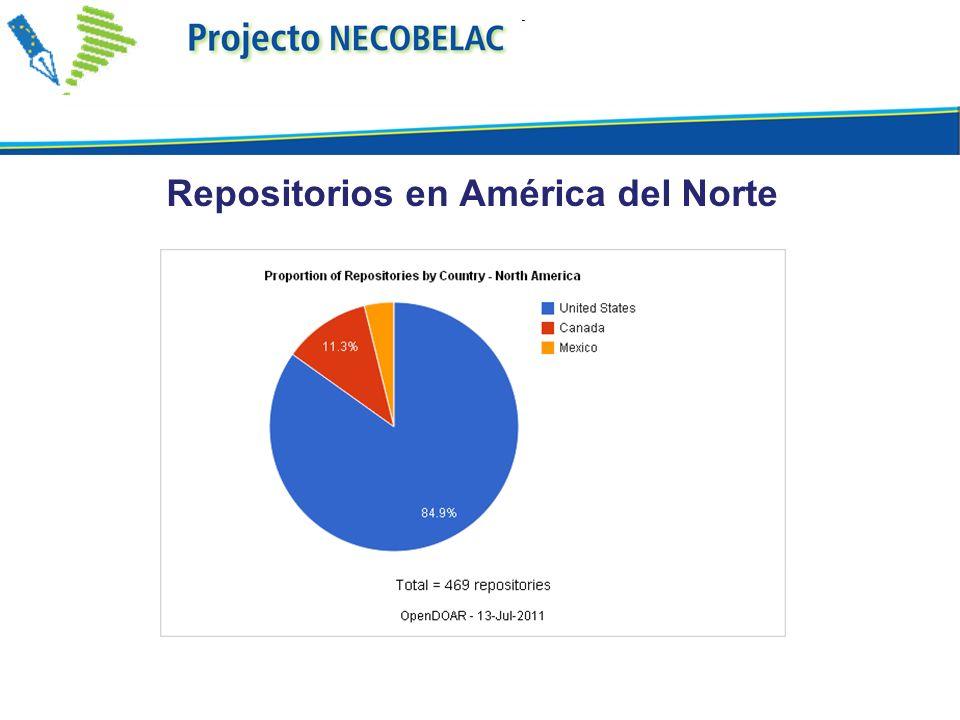 Repositorios en América del Norte