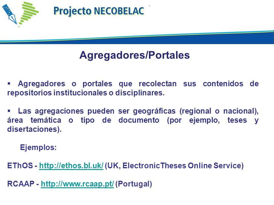 Datos extraídos de OpenDOAR - Directory of Open Access Repositories Por José Carvalho La situación de los repositorios en el mundo