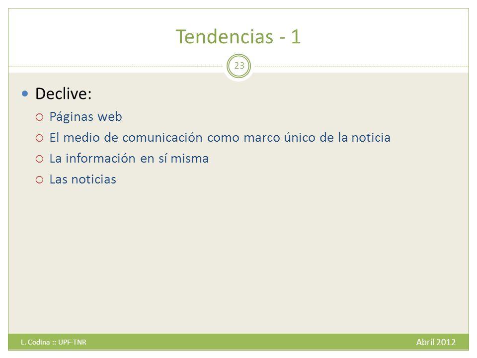 Tendencias - 1 Abril 2012 L.