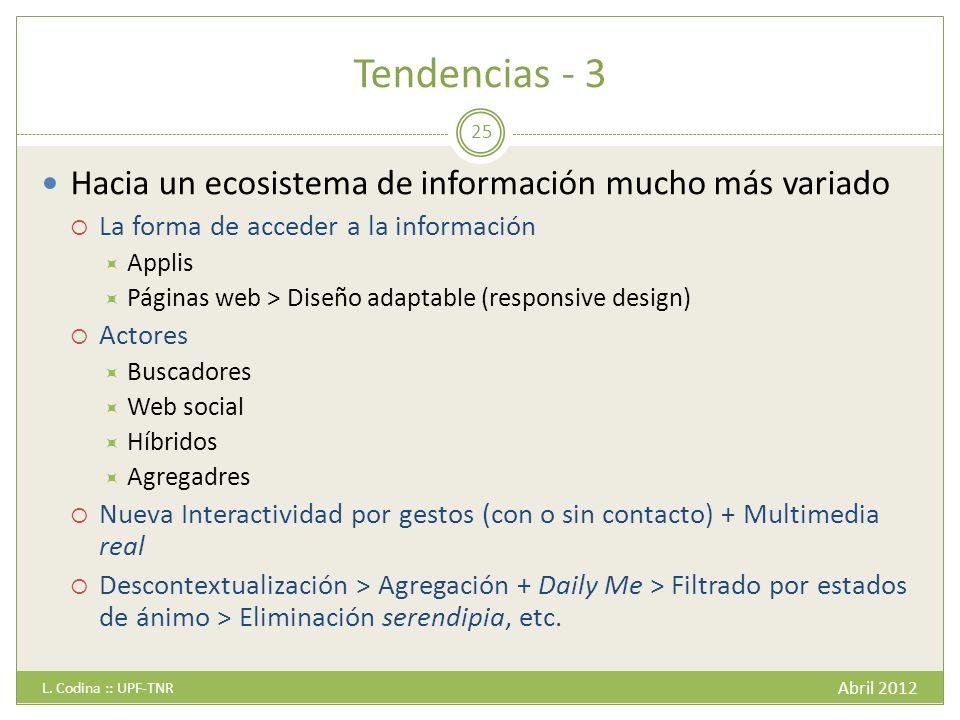 Tendencias - 3 Abril 2012 L.