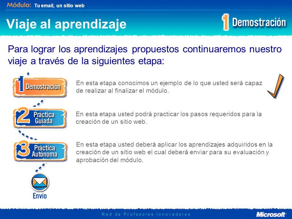 Tu email, un sitio web R e d d e P r o f e s o r e s I n n o v a d o r e s Veamos un ejemplo Visita: www.profeangela.cl.nuwww.profeangela.cl.nu