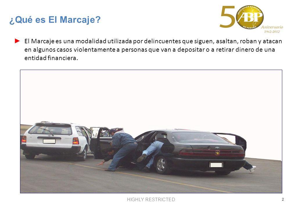 El Marcaje es una modalidad utilizada por delincuentes que siguen, asaltan, roban y atacan en algunos casos violentamente a personas que van a deposit