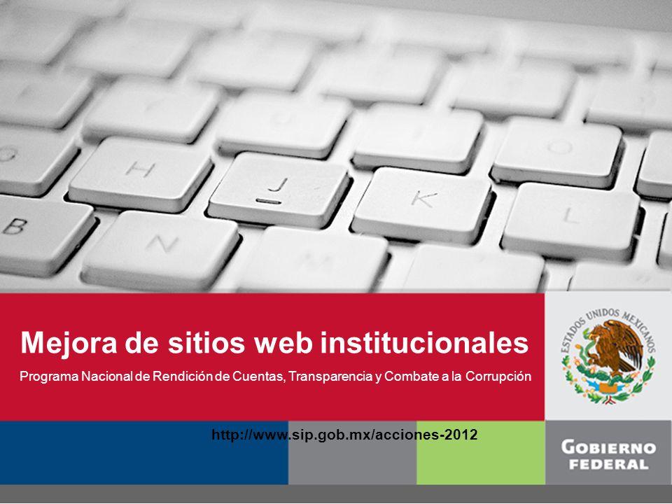 www.sip.gob.mx 1.Resultados de la evaluación 2011 2.