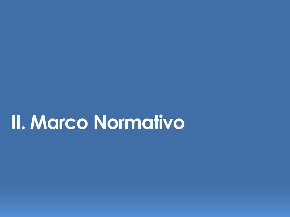 II. Marco Normativo