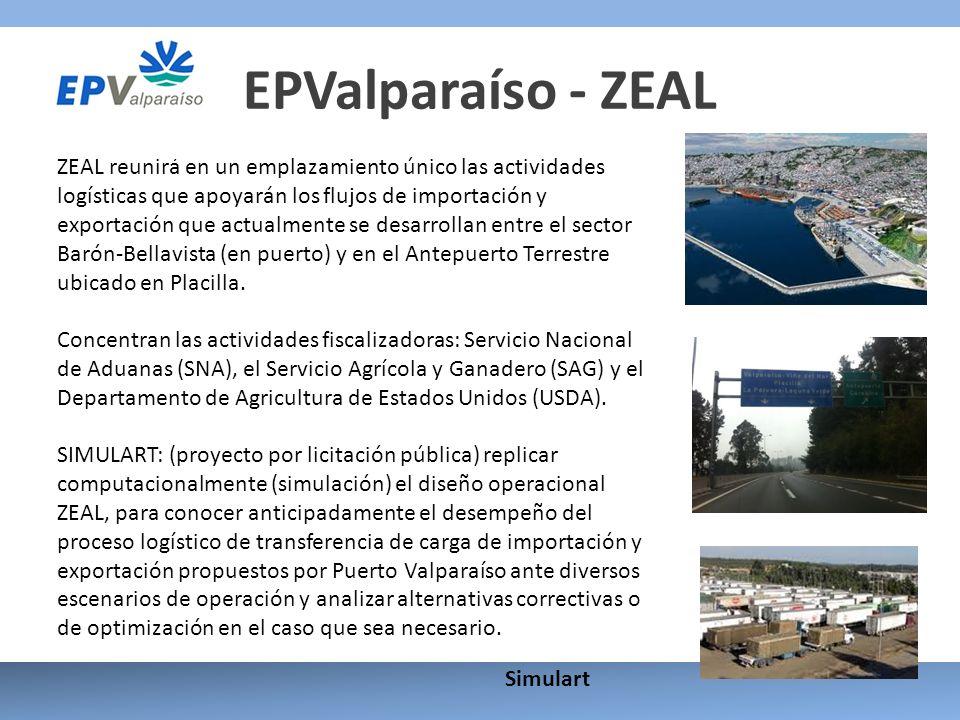 EPValparaíso - ZEAL ZEAL reunirá en un emplazamiento único las actividades logísticas que apoyarán los flujos de importación y exportación que actualm