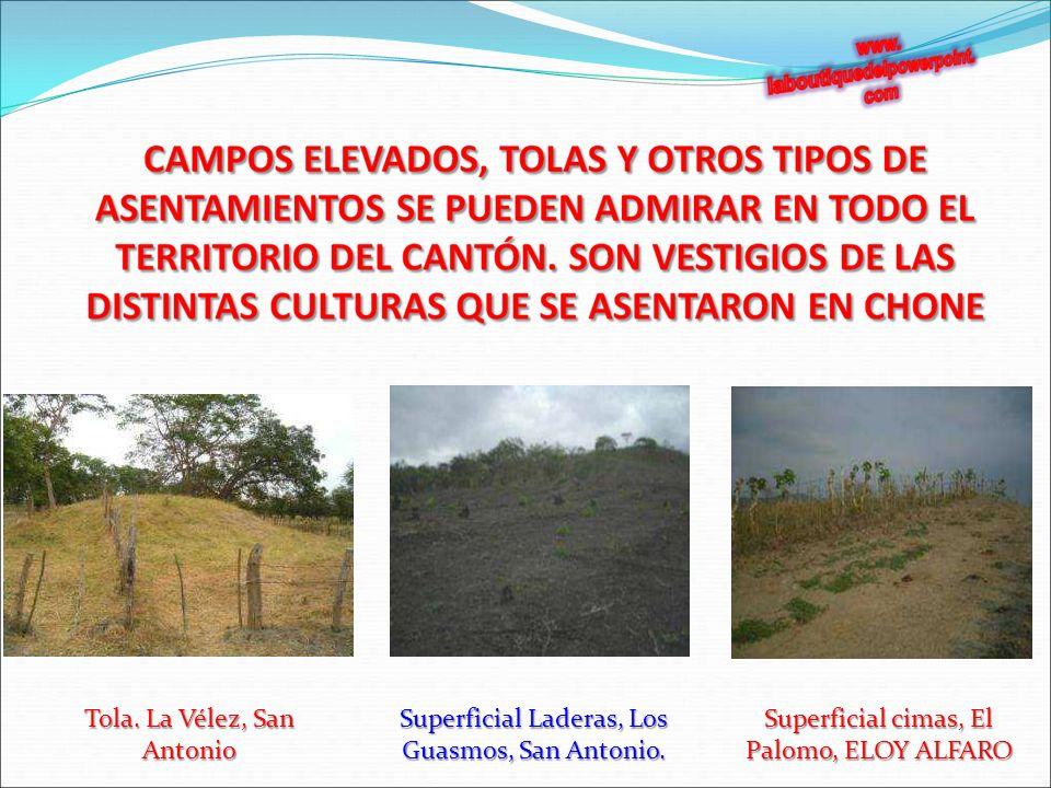 Tola.La Vélez, San Antonio Superficial Laderas, Los Guasmos, San Antonio.