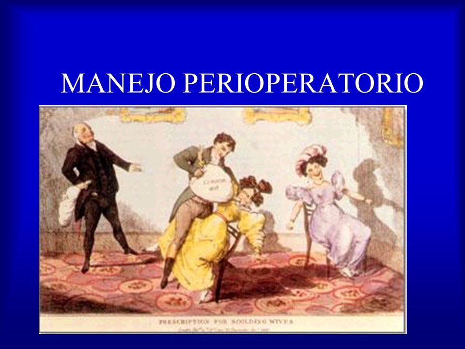 MANEJO PERIOPERATORIO