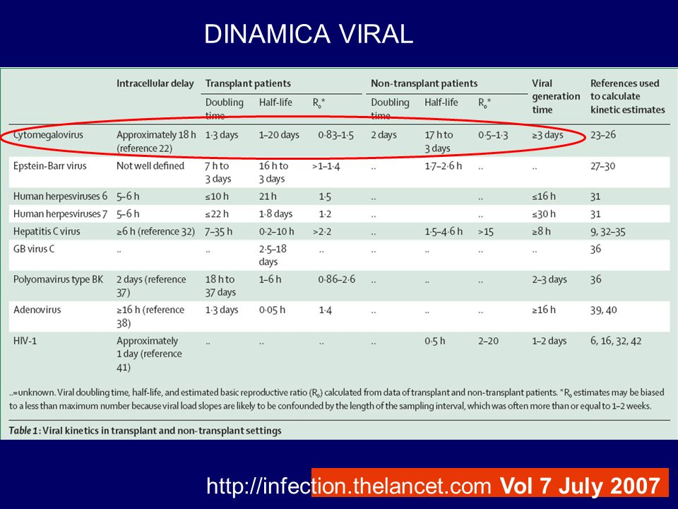 http://infection.thelancet.com Vol 7 July 2007 DINAMICA VIRAL