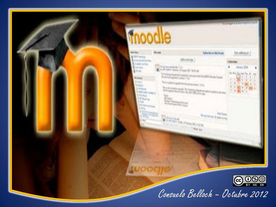 Moodle Creador: Martin Dougiamas Soporte: Comunidad virtual desarrollo Moodle Comunidad virtual desarrollo Moodle Modelo pedagógico: Constructivismo social Recursos – Administración – Transmisión – Interacción – Comunicación – Colaboración – Evaluación